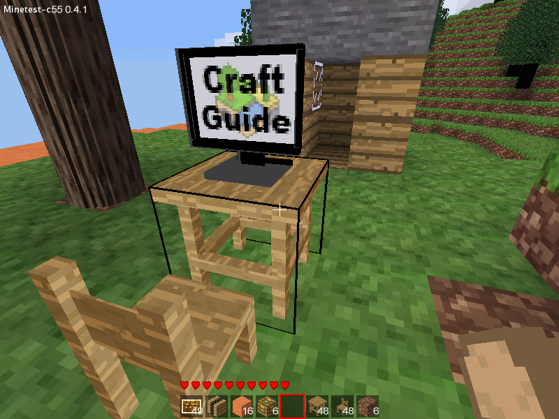 Craft Guide for Minetest